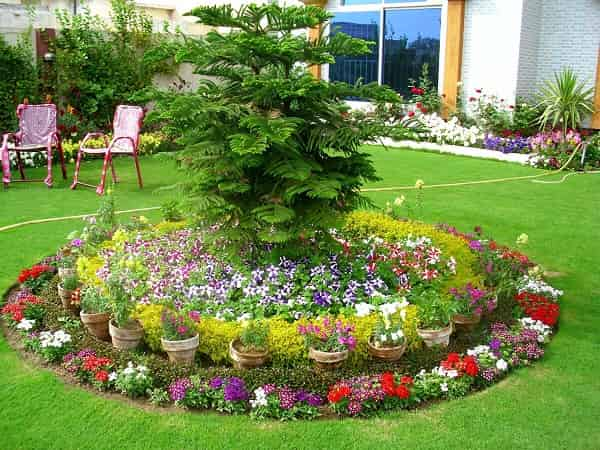 15 Low Maintenance Flower Beds In Front Of House – Life is ...