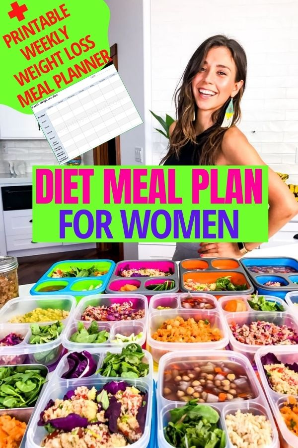 diet meal plan to lose weight easy for women - life is a love